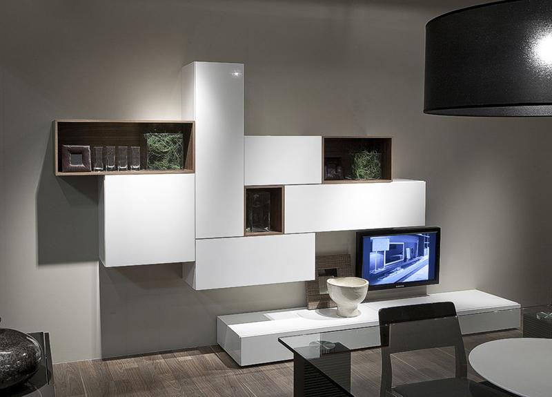 Living gallery mobilarom mobila la comanda bacau for Soggiorni componibili moderni